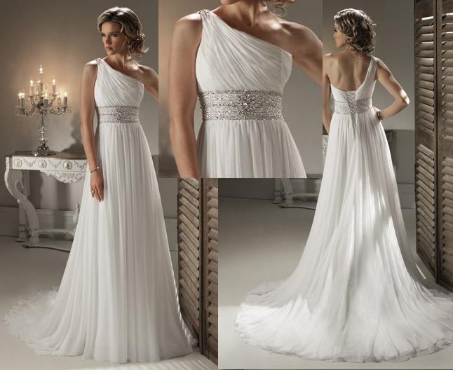 Fashion Trends: One Shoulder Wedding Dress
