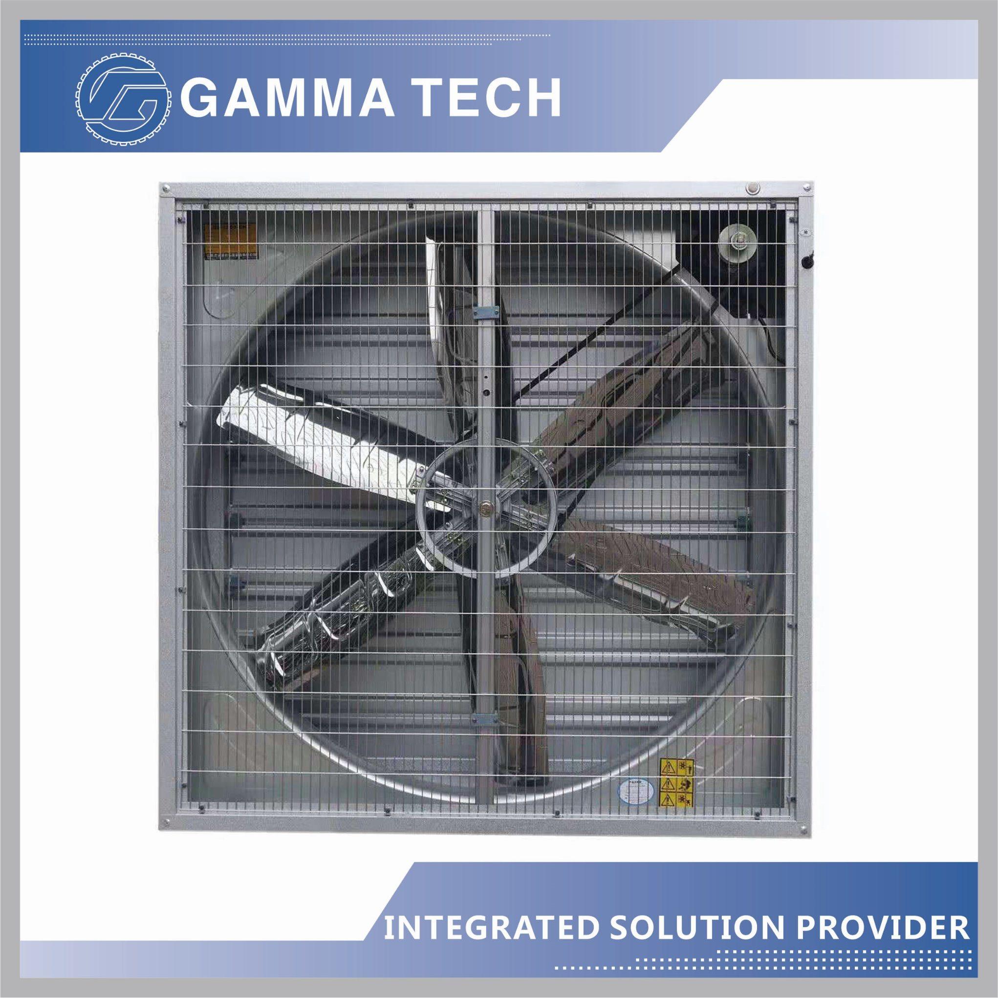 hot item explosion proof industrial ventilation fan 50inch industrial powerful shutter ventilation exhaust fan for greenhouse chickenhouse fan