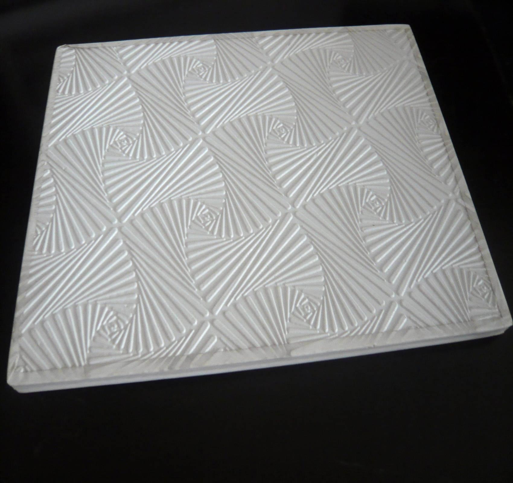China Pvc Gypsum Ceiling Tile Elegant New Design