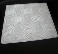 China PVC Gypsum Ceiling Tile (elegant new design) - China ...