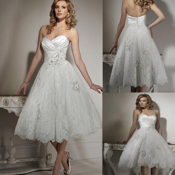 China Cute Short Wedding Dress 111030  China Bridal