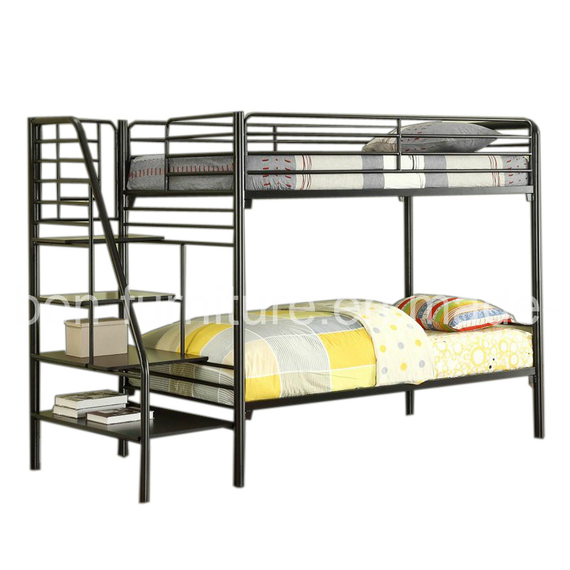China Triple Sleeper Bunk Bed Frame - Double on Bottom ...