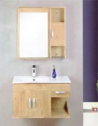 China Oak Bathroom Wash Basin Cabinet (OMQ-8025) - China ...