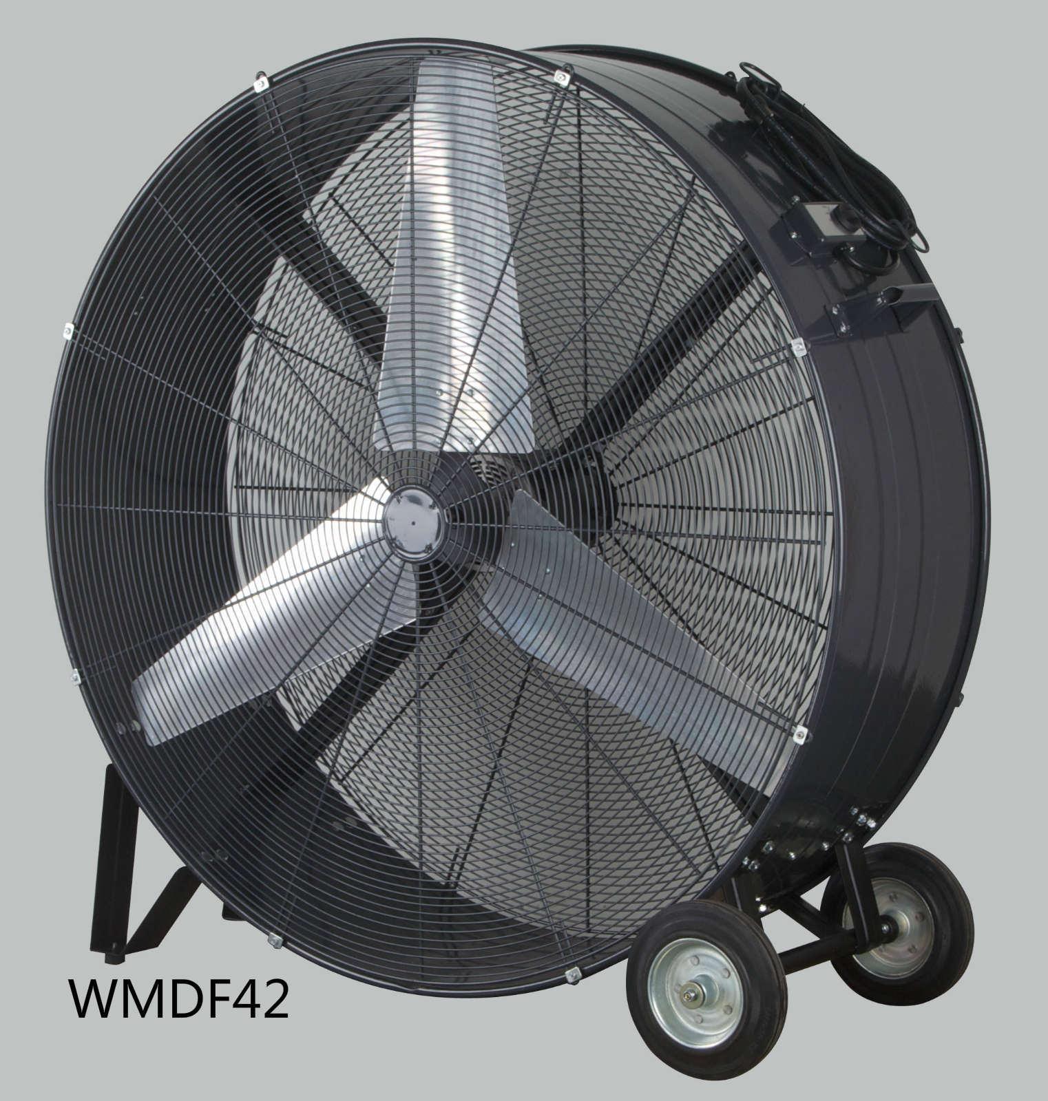 china 42 inch high volume fan high