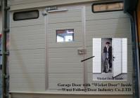 China Automatic Garage Door with Wicket Door & Windows ...