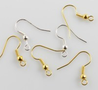 Different Types Of Earring Hooks Pictures to Pin on
