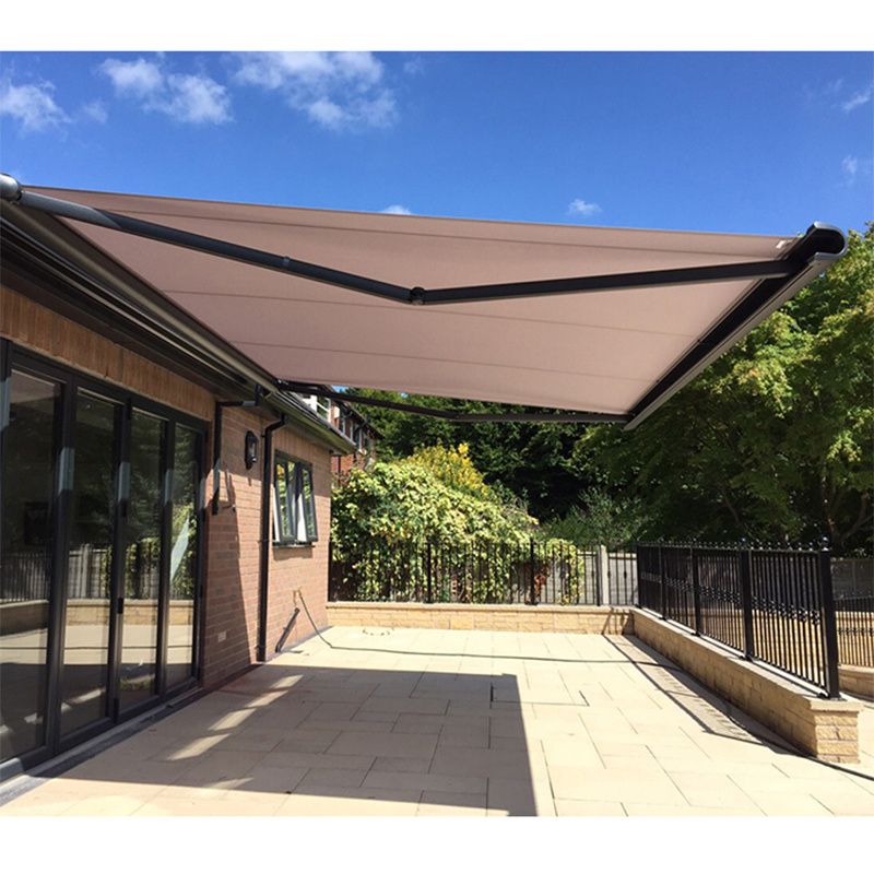 china retractable patio awning with