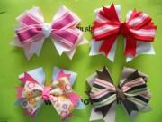 china cute baby design hair bows