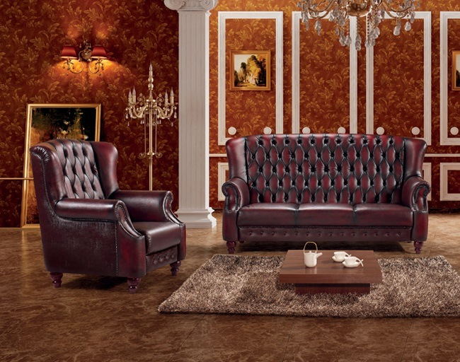 high back chesterfield sofa shoes shuberry china luxury red leather set ms 09