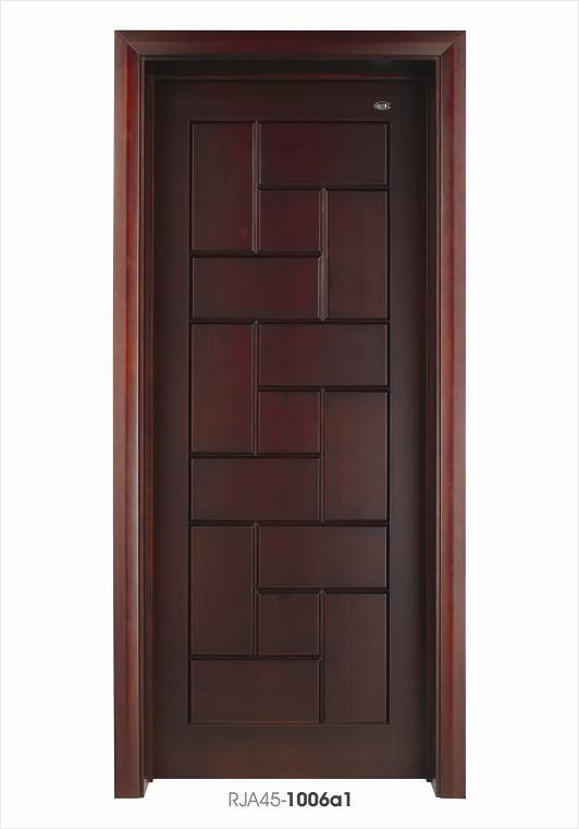 China Interior Bedroom Wooden Door Composite Doors Design With Timber Venner Photos Pictures Made In China Com