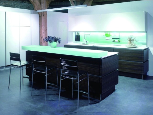 China Wood Veneer & Lacquer Kitchen Cabinet - China Kitchen Cabinet ...