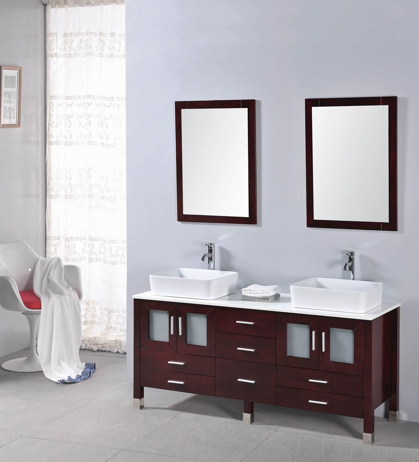 China HiQuality Wood Bathroom Vanity OSL8646  China