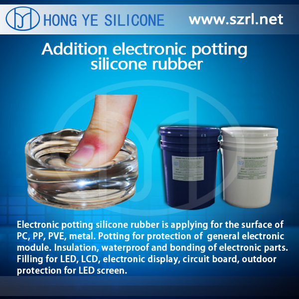 China Electronic Potting Compound Silicone Rubber Hy-9300 ...