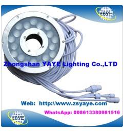 china yaye 18 waterproof ip68 dmx 18w led pool light 18w dmx led underwater light led underwater lamp with warranty 2 years china 18w led pool light  [ 1000 x 1000 Pixel ]