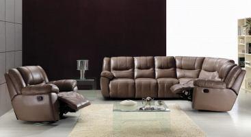 China Recliner Corner Leather Sofa ES2096   China ...