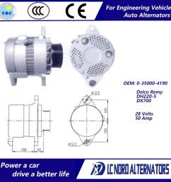 china delco remy alternator oem no 0 35000 4190 china alternator alternators [ 1000 x 1000 Pixel ]