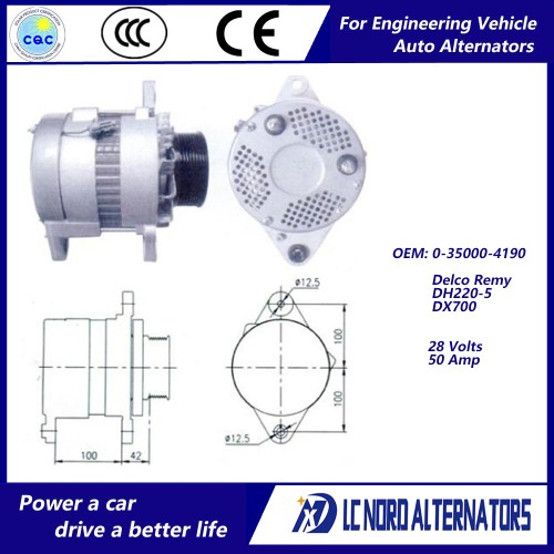 small resolution of china delco remy alternator oem no 0 35000 4190 china alternator alternators