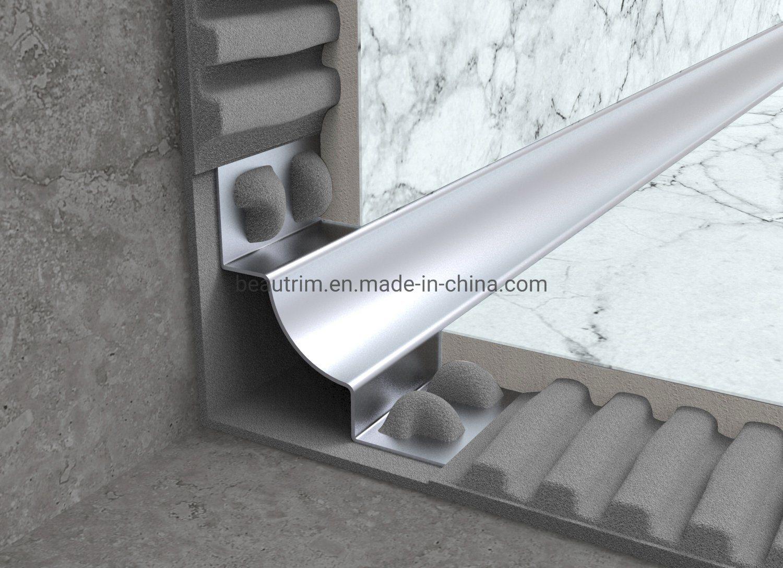 hot item stainless steel sus304 316 quarter round corner tile trim
