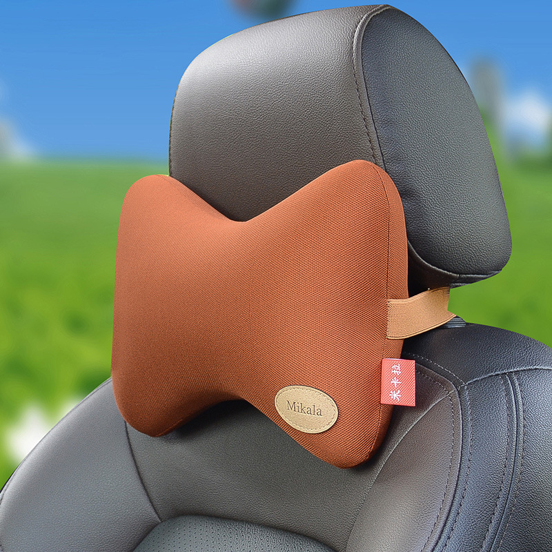 china car headrest pillow inflatable