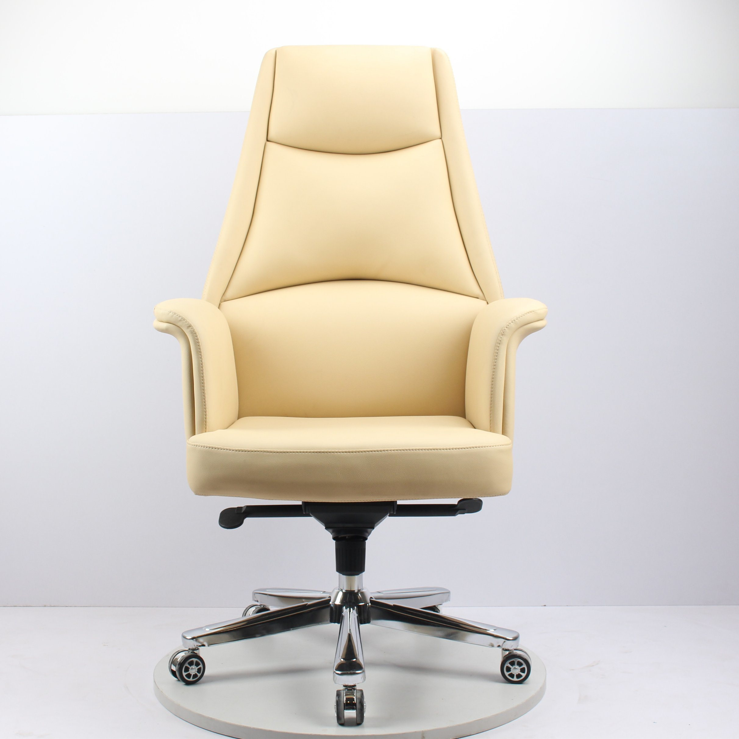 Japanese Chair Hot Item Japanese And European Style Simple High Back Cortex Computer Chair Modern Fashion Class Chair High End Office Chair Large And Medium Class