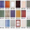 Kitchen cabinet doors xh 1001