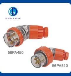 australia ip66 3 pin 500v industrial plug and socket 56p332 32a 250v [ 1500 x 1500 Pixel ]