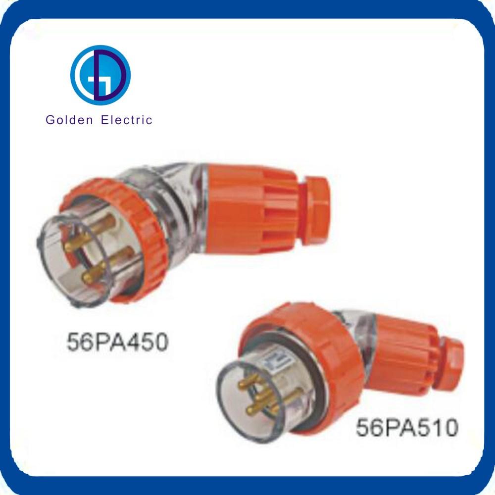 medium resolution of australia ip66 3 pin 500v industrial plug and socket 56p332 32a 250v