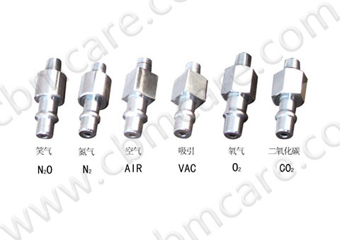 China (Diss-outlet) DIN Probes/Adaptors for Medical Gases