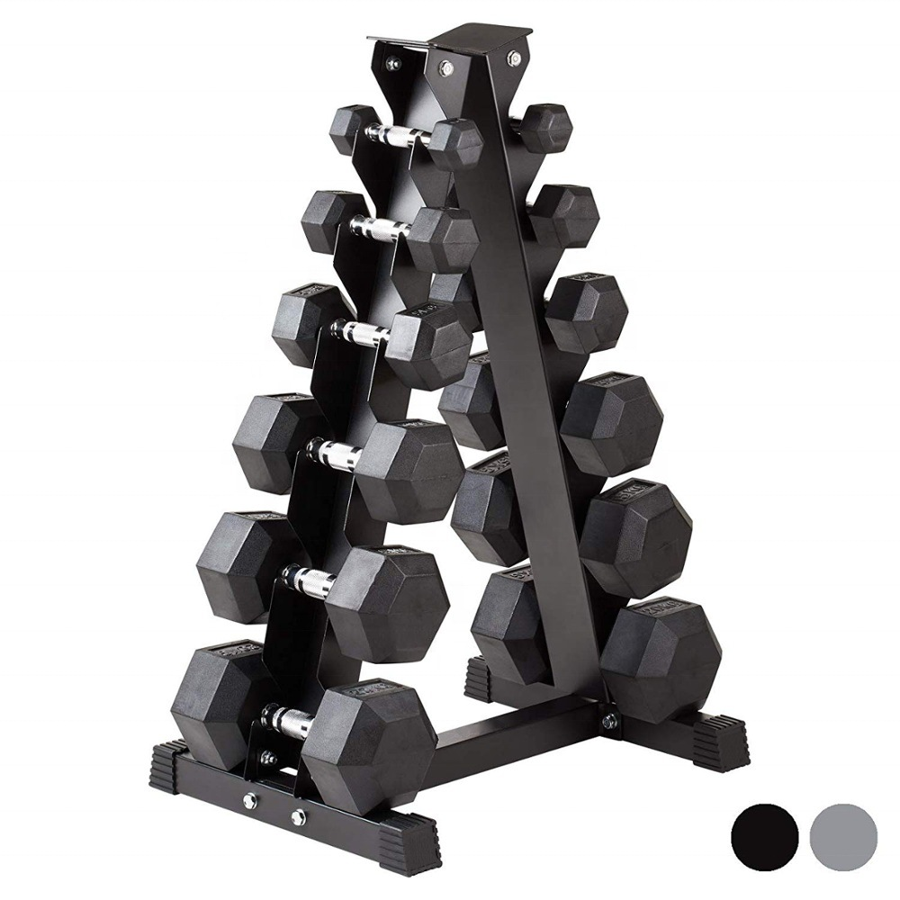 hot item commercial gym equipment painting dumbbell storage weight rack dumbbell rack