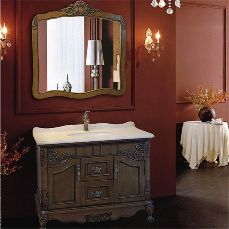 China America Vintage Style Bathroom Vanity With Granite Countertop Photos Pictures Made In China Com
