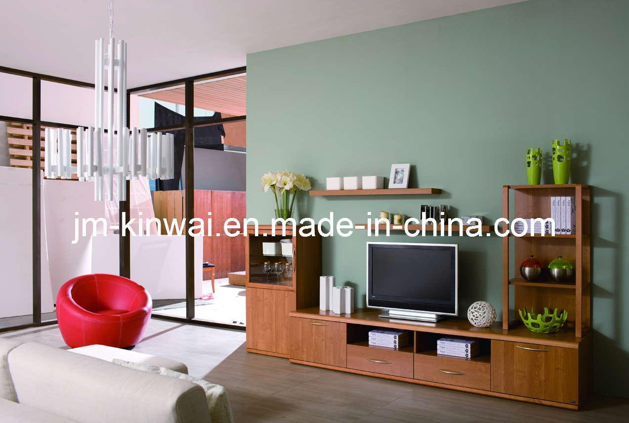 China Melamine TV Unit Living Room Furniture