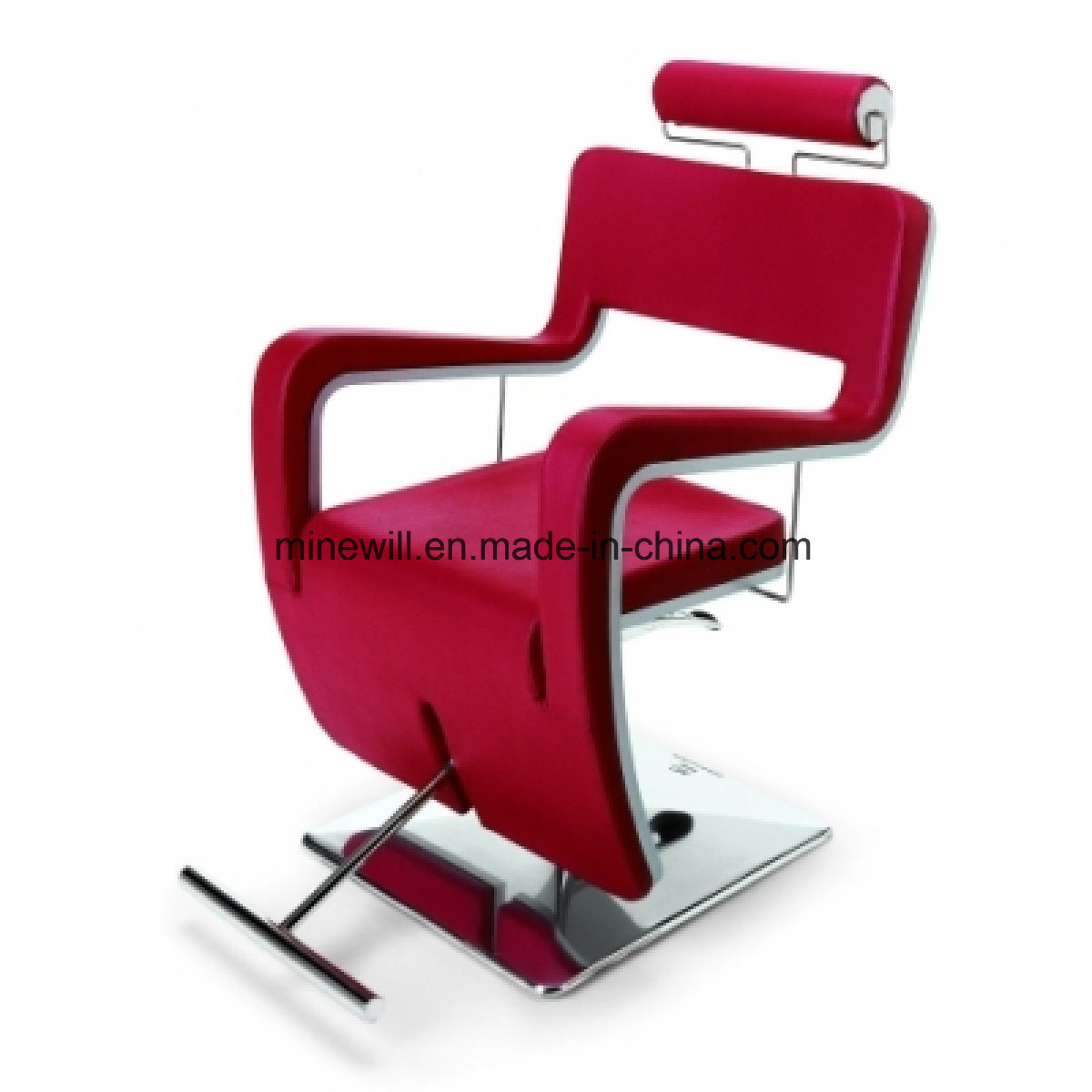 Red Barber Chair Hot Item High Quality Red Salon Barber Chair With T Footrest Styling Chair