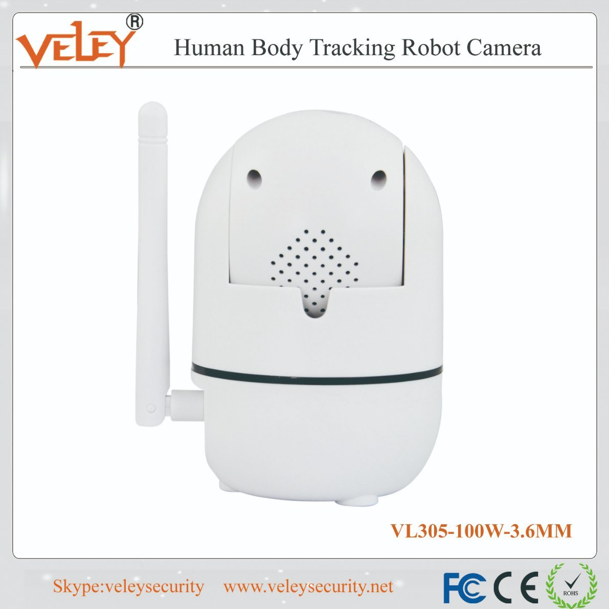 China Home Security Wireless Baby Camera Human Body Tracking Robot Rh  Veleysecurity En Made In China Com Baby Tracker Tracking Baby Development  In Womb