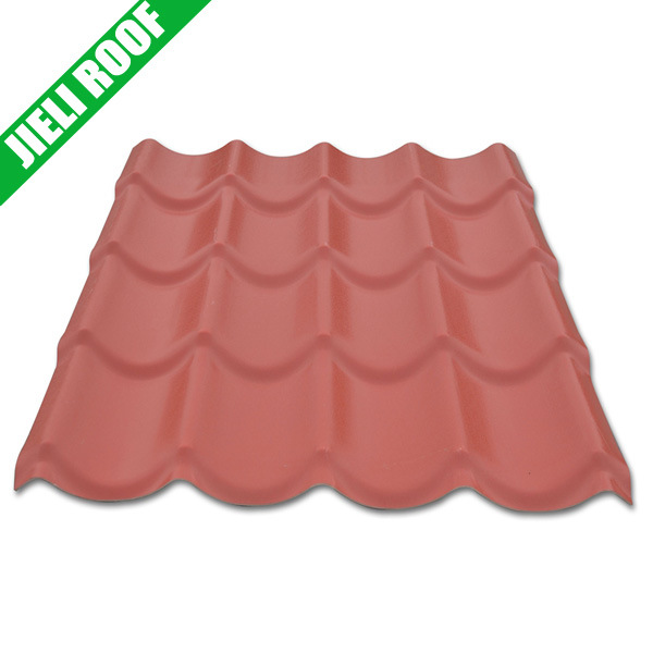 hot item plastic roof tiles terracotta color europe style