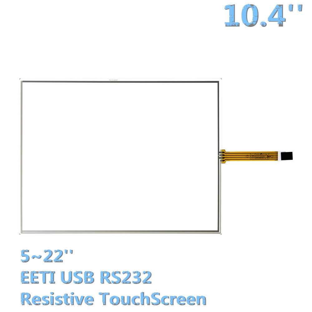 hight resolution of outdoor led display digital signage 5 wire resistive touchscreen 10 4 inch touch panels