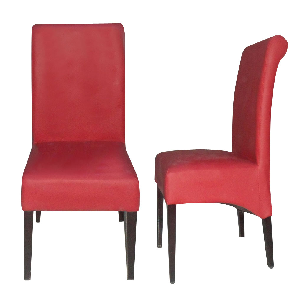 Red Upholstered Dining Chairs Hot Item Elegant Red Leather Upholstered Metal Restaurant Dining Chairs Dc 034