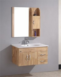 China Wall Mount Oak Bathroom Cabinet (OMQ