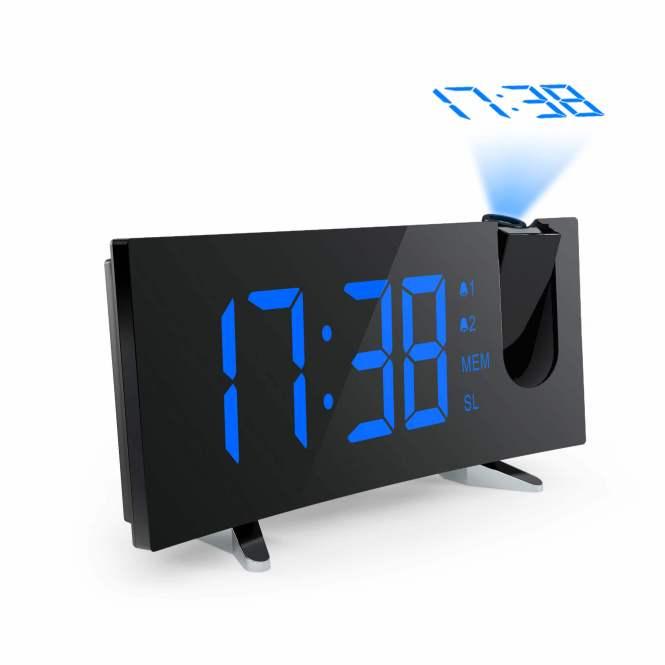 Digital Alarm Clock Led With Fm Radio