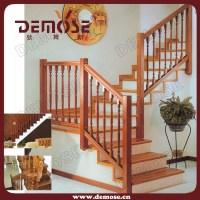 China Simple L-Shaped Wood Stairs Design (DMS-S1008 ...