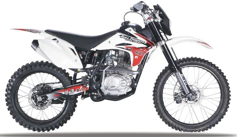 extreme honda 250cc dirt bike racing