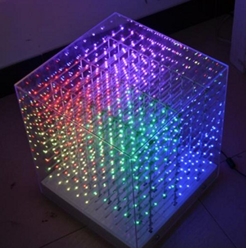 China CE Approved 3mm LED Cube Light LED Monitor T10