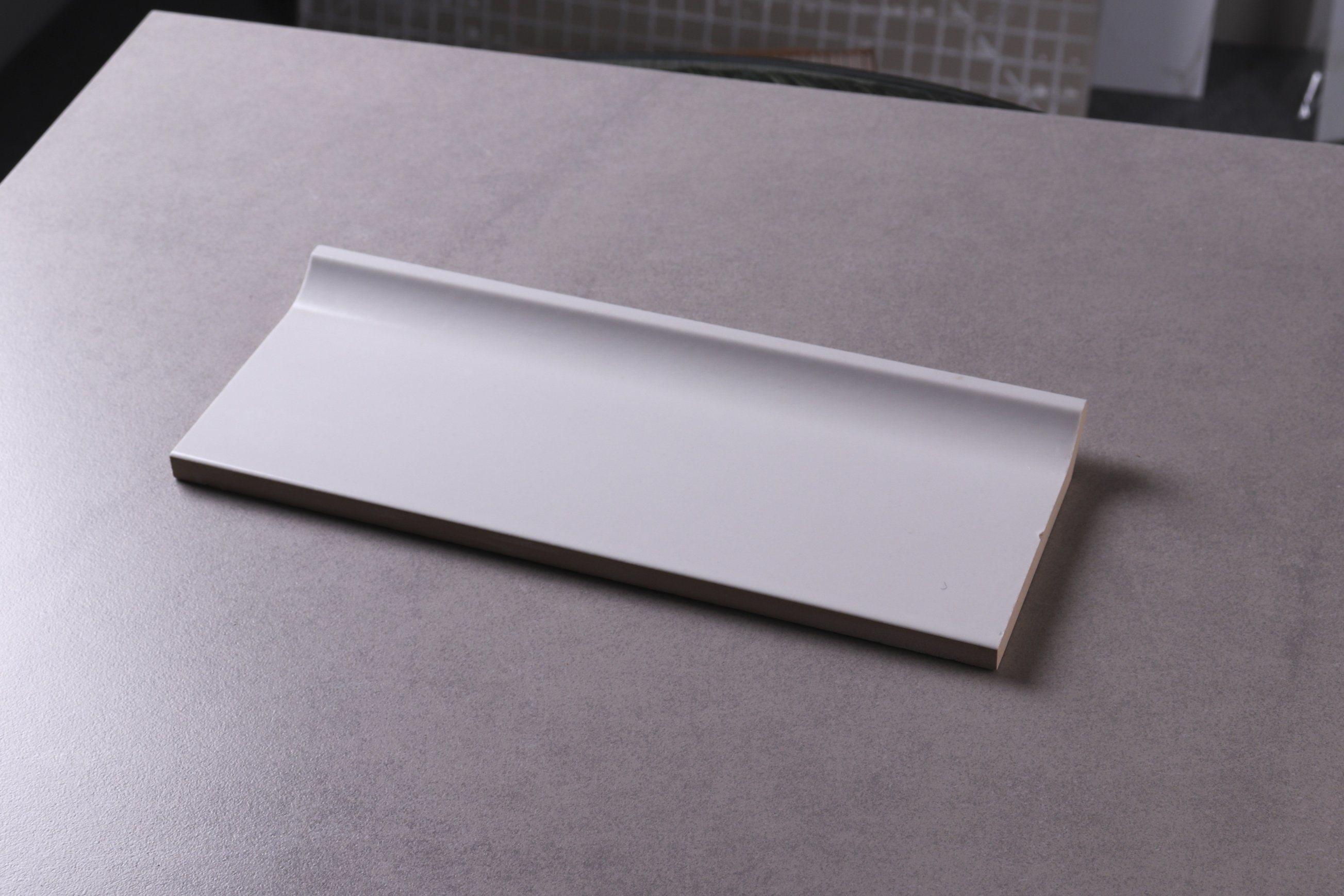 hot item jla 100x300 white bathroom inside corner brick tile accessories cove base skirting trim