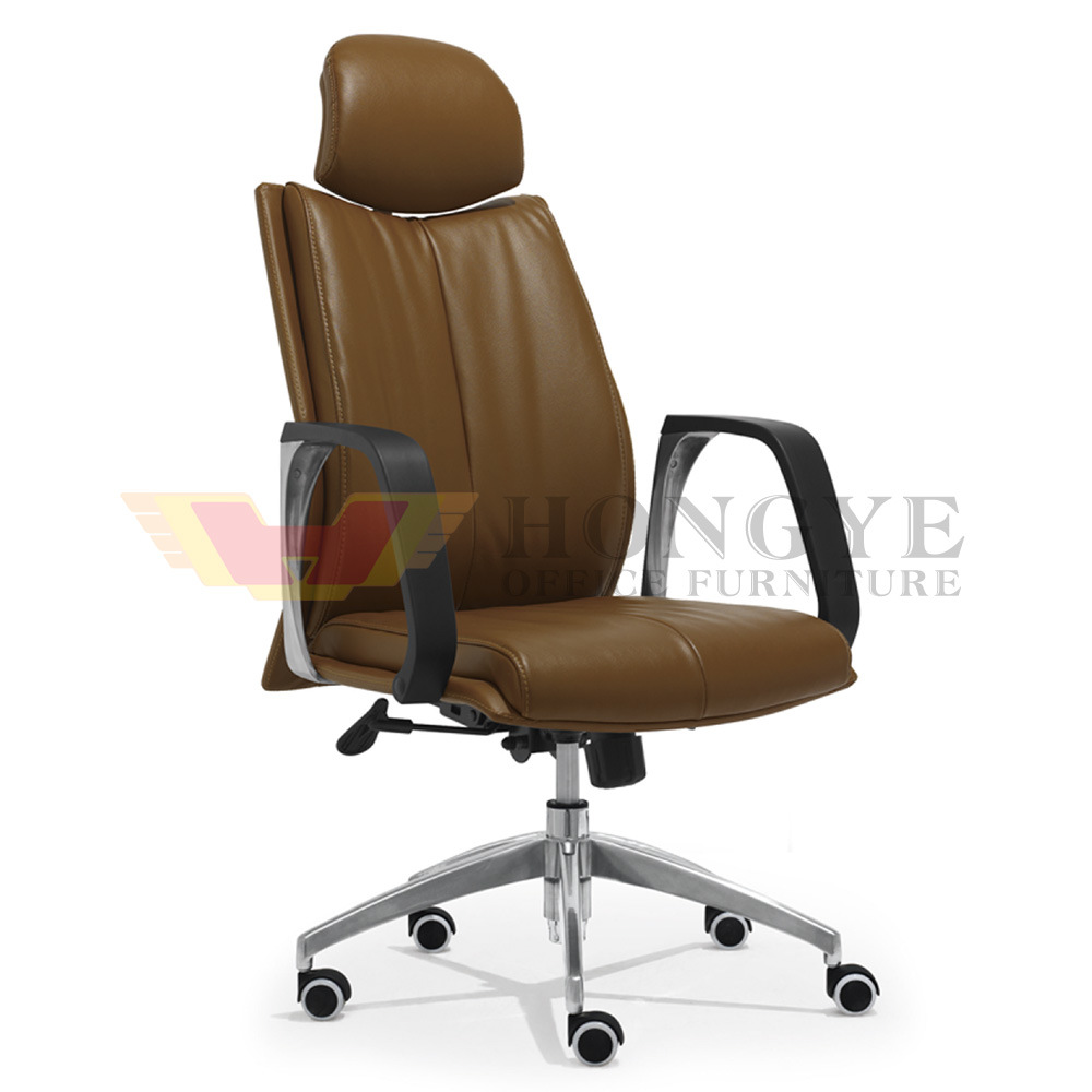 How To Adjust Office Chair Hot Item Tea Color Executive High Chair Adjust Height Office Furniture Hy 118a