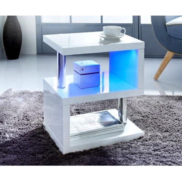 high gloss coffee table side table