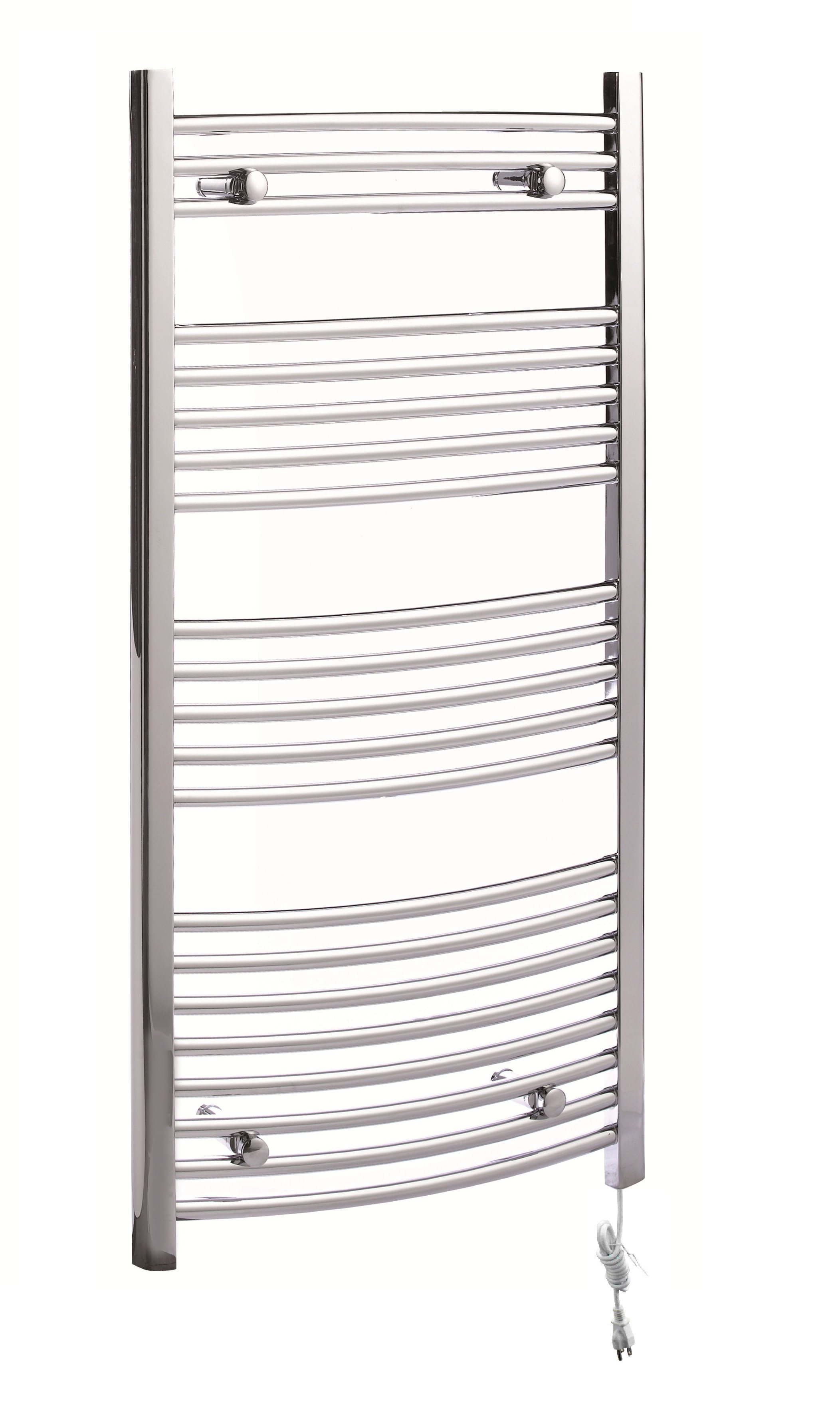 Hot Item 21 Bars Wall Mounted Arc Tube Ladder Heated Towel Rail