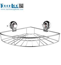 china 304 stainless steel corner shower caddy dg sf1024a e china kitchen corner basket shower room corner basket [ 2000 x 2000 Pixel ]