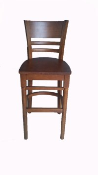 China Wooden Bar Chair (008#) - China Bar Chair, Wooden Chair