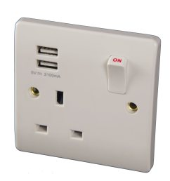 china bs 1 gang switched usb sockets with 2 1a usb outlets double pole china usb sockets usb wall socket [ 2625 x 1960 Pixel ]