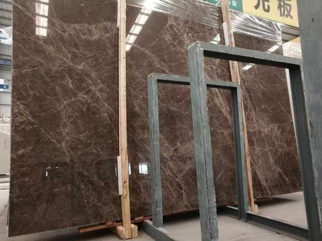 China Brown Dark Emperador Marble Slabs For Bathroom Flooring Staircase Wall China Marble Marble Slab