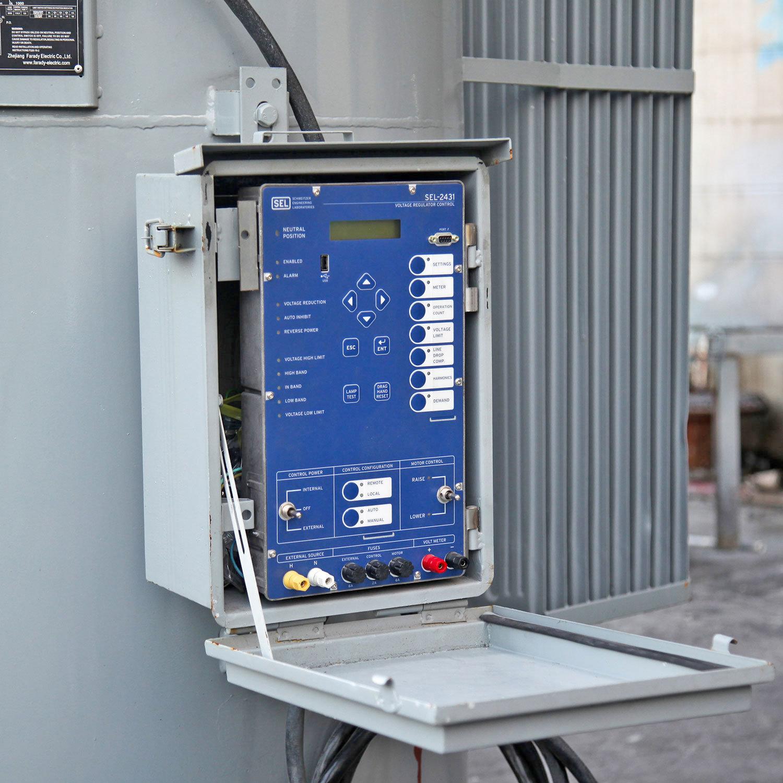 hight resolution of 33kv distribution line automatic step voltage regulator